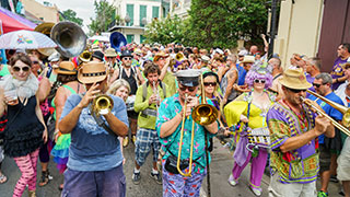New Orleans Second Line Things To Do Image