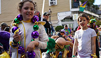 Family Events At New Orleans Mardi Gras